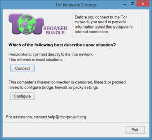 Sử dụng Tor