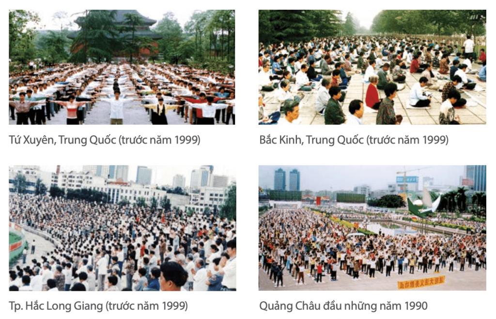 Pháp Luân Công tại Trung Quốc trước năm 1999