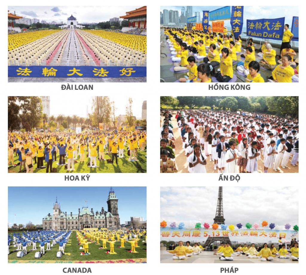 Pháp Luân Công phổ truyền trên Thế giới